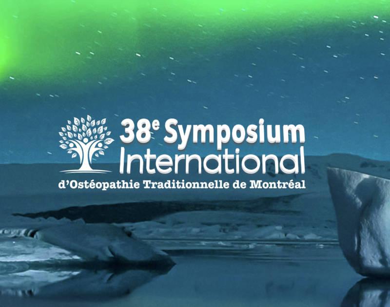 Logo du 38e symposium d'ostéopathie de Montréal